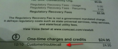 Comcast Charges Hurricane Victim $24.95 For Calling Customer Service