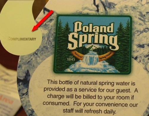 This Complimentary Bottle Of Water From Best Western Costs $3. Huh?