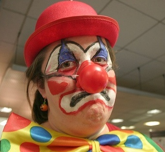 Gray Lady To Wall Street Failures: Why Not Become A Clown?!
