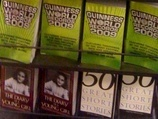 "Barnes & Noble Shelves ""Diary of Anne Frank,"" ""Guiness Book of World Records"" Under Fiction"