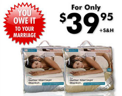 Better Marriage Blanket Protects Your Partner From Noxious Farts