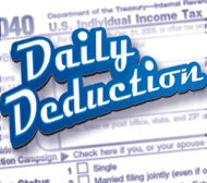Tax Tips: Deduct Your Filing Fees