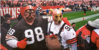 Browns Fan Sues Because Madden Game Shows His Iconic Mask