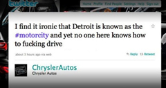 Chrysler Fires Social Media Firm After Tweeting F-Bomb