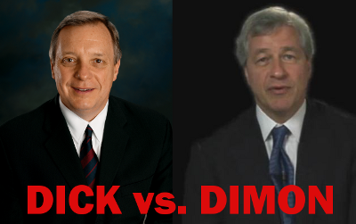 Senator Durbin To Chase CEO: You're Already Gouging The Consumer, So Stop Complaining
