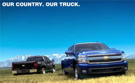 "Chevy: We Don't Care That The ""Our Country"" Song Is Annoying And Everyone Hates It"