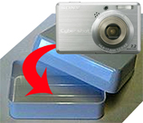 Your Digital Camera In A Travel Soap Case
