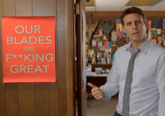Dollar Shave Club Lures Customers With Cheap Razors & Cheeky Ad