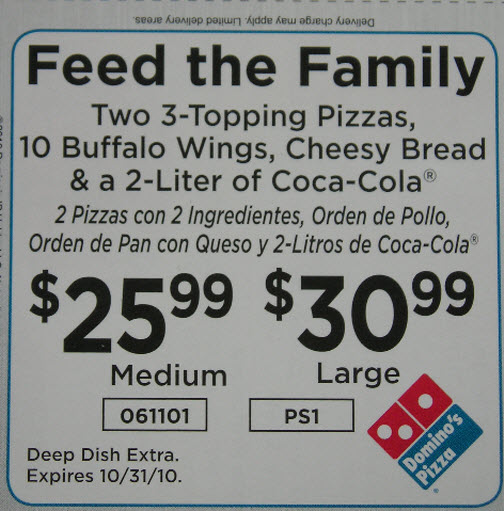 Domino's Has A Deal For You, As Long As You Speak English