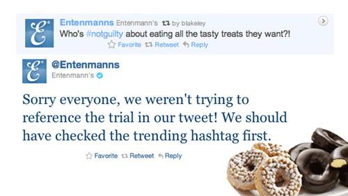 Eating Mini-Donuts Is Like Child Murder, Tweets Entenmann's