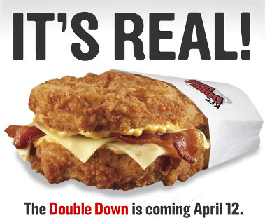 10 Fast Food Items Worse For You Than The KFC Double Down