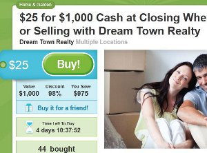 Groupon Gets Into Real Estate Deals