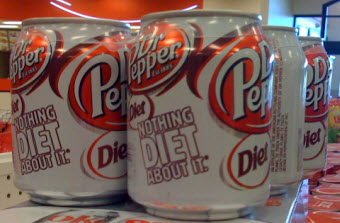 Diet Dr. Pepper Cans Say It Isn't