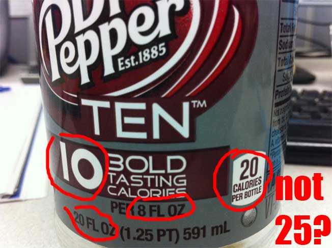 Dr. Pepper Ten: Naming Soda After Number Of Calories Add Up At Larger Sizes