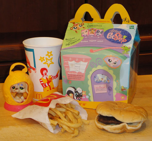 This 1-Year-Old Happy Meal Has Aged Surprisingly Well