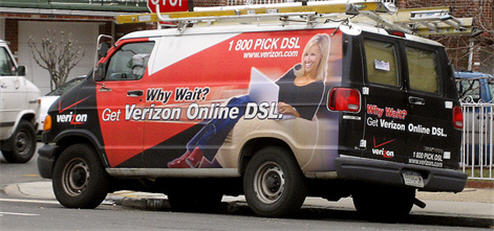 Verizon: Sorry, Our DSL Is Full.