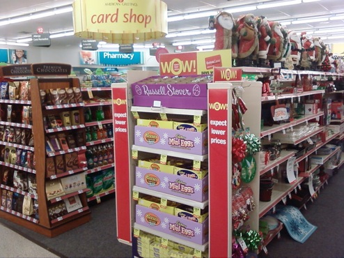 cvs raises the creep bar easter treats in december consumerist