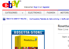 Couple Faces $700 Tab For Listing Copy Of Rosetta Stone They Didn't Know Was Pirated