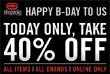 40% Off At Ecko, Today Only