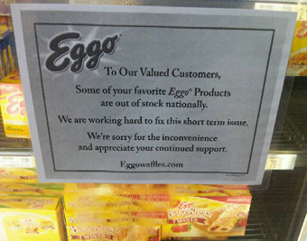Kellogg's Finally Explains Eggo Waffle Shortage