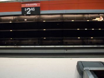 People Of Georgia Freak Out Over Snow, Empty Walmart Shelves