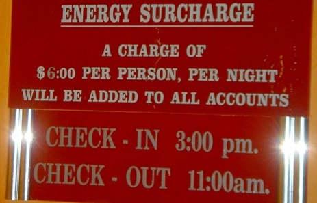 "Comfort Suite's Shady ""Energy Surcharge"" Costs You $144"