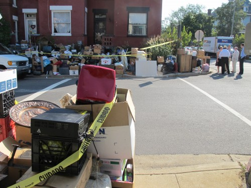 Woman And Her 30,000 Lbs Of Stuff Get Evicted