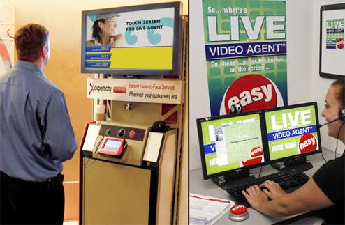 Staples Installs Two-Way Video Customer Service Stations