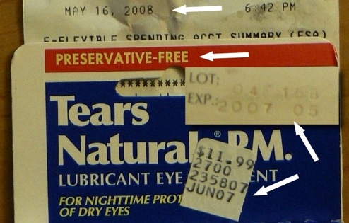 Why Is CVS Selling Year-Old Expired Eye Ointment?