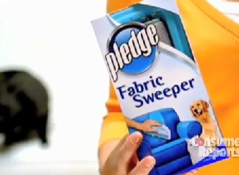 Consumer Reports Puts Pledge Fabric Sweeper To The Test