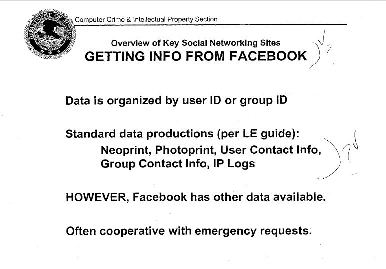 How Safe Is Your Facebook Info From The Feds?
