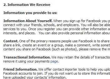 Facebook To Simplify Privacy Policy