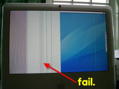 Oh No! iMac Screens Failing