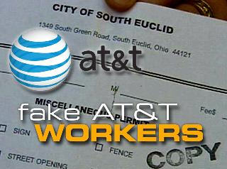Fake AT&T Workers Steal From Unsuspecting Customers