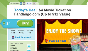 Get A Movie Ticket For Only $4