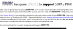 Fark Shows Its Support Of SOPA & PIPA With White-Out