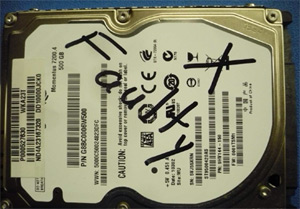 "Toshiba Won't Repair Faulty Hard Drive Because You Sharpied ""Faulty"" On It"