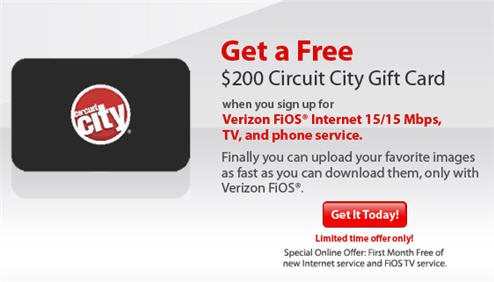 Verizon Told Me Their FiOS Gift Card Promotion Never Even Existed