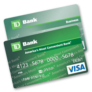 Td Bank Pushes Totally Flat Debit Cards Consumerist