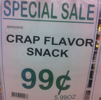 Truth In Advertising For Pork Rinds?
