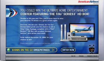American Airlines: Evoke 9/11? Give Away A TiVo!