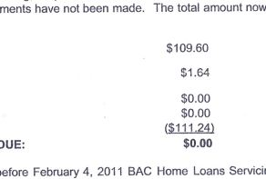 Bank Of America Threatens To Foreclose On Homeowner If He Doesn't Pay $0.00 ASAP