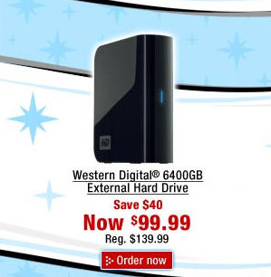 Staples Advertises 6400 Gig Hard Drive; Singularity Quickly approaching.