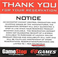 GameStop: One Playstation 3 Per Surname