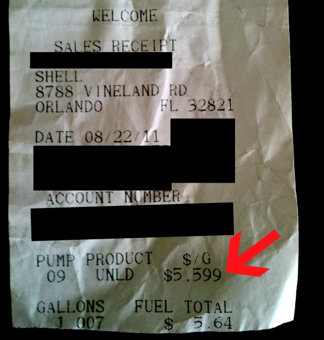 Orlando Shell Station Charges $5.59/Gallon, Shocking Drivers