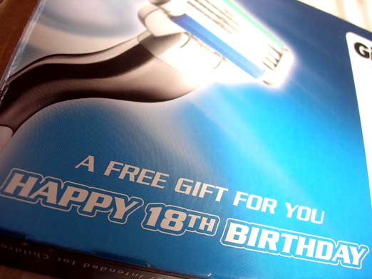 UPDATE! How Did Gillette Know It Was My Birthday??!