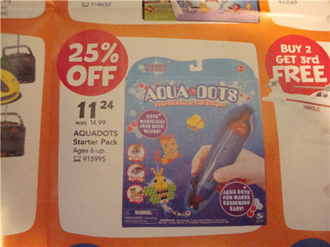 "Toys R Us Advertising Date Rape Drug Laced Aquadots As A ""Door Buster"""
