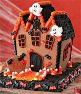 Make Your Own Haunted Gingerbread House