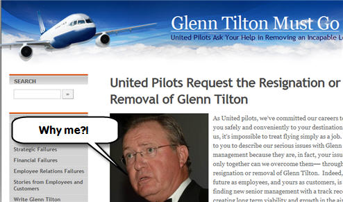 United's Pilots Would Like You To Help Them Fire Their CEO