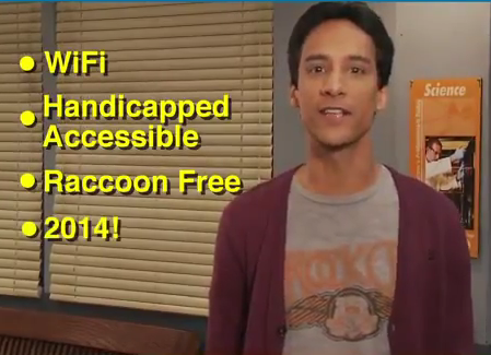 Greendale, raccoon-free by 2014!